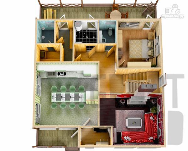 Фото 2: проект двухэтажный дом 12 х 10 м