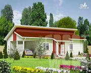 Проект одноэтажный дом 15 х 7 м