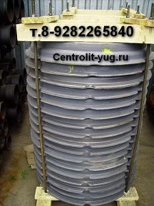 Люк чугунный канализационный ГОСТ 3634-99