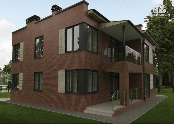 Фото 2: проект дом в стиле минимализм