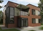Фото: дом в стиле минимализм