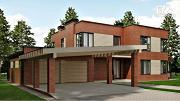 Проект дом в стиле минимализм