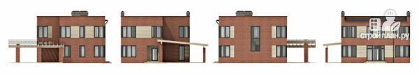 Фото 3: проект дом в стиле минимализм