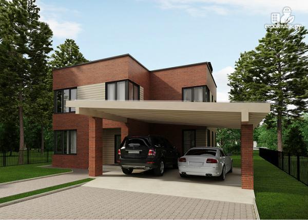 Фото: проект дом в стиле минимализм