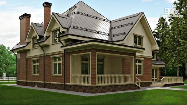 Фото 4: проект уютный дом в американском стиле