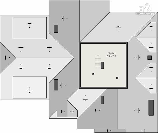 Фото 8: проект уютный дом в американском стиле