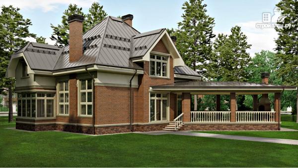 Фото: проект уютный дом в американском стиле