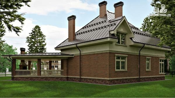 Фото 3: проект уютный дом в американском стиле