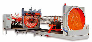 Сваенавивочная машина для сварки цилиндрических каркасов бнс сваи
