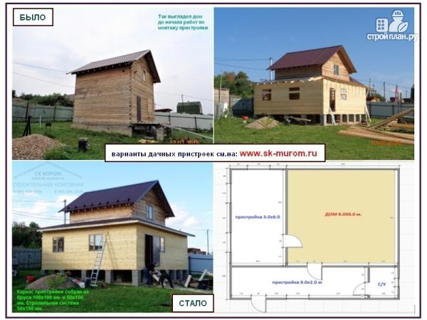 Фото 4: проект пристройка к дому