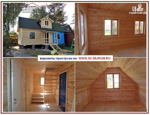 Фото 3: проект пристройка к дому