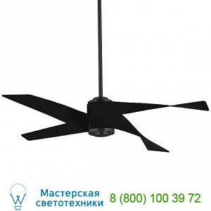 Minka Aire Fans F903L-BN/SL Artemis IV Ceiling Fan, светильник