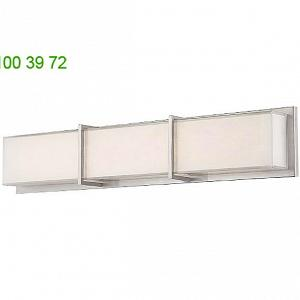 WS-6838-BN Bahn Bath Vanity Light Modern Forms, светильник для ванной