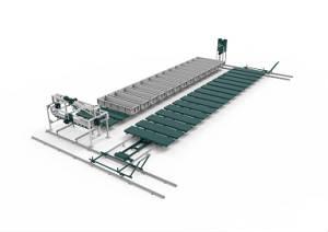 Конвейерная линия для производста газобетонаРТМ-40К