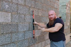 Стеновой (Арболитовый Блок) М25. Размер 600х300х200мм