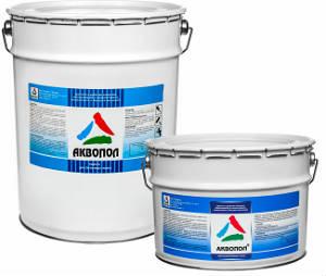 АКВОПОЛ — водная краска для бетонной стяжки пола
