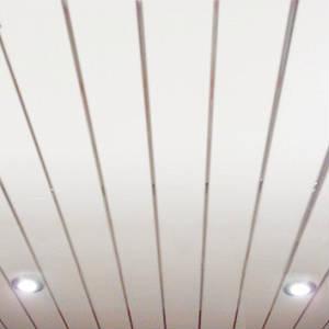 Реечный потолок ПВХ