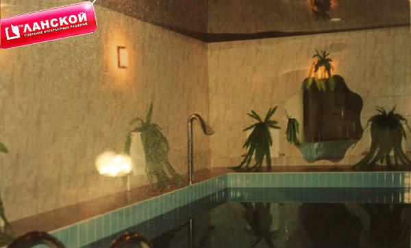 Фото Баня под ключ с бассейном