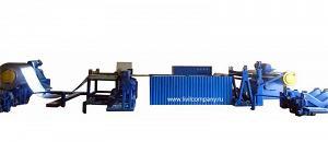 Линия продольной резки рулонного металла на штрипс