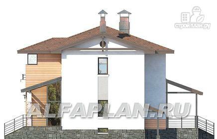 Фото 8: проект современный загородный дом с цоколем