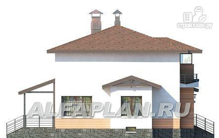 Фото 6: проект современный загородный дом с цоколем