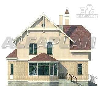 Фото 8: проект «Успех» -двухэтажный дом с верандой и эркером