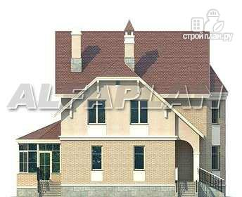 Фото 7: проект «Успех» -двухэтажный дом с верандой и эркером