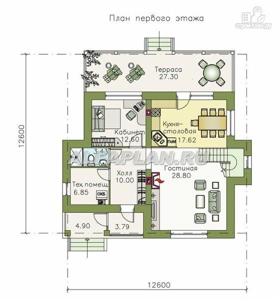 """Фото 2: проект """"Новая пристань"""" - дом для удобной загородной жизни"""
