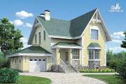 """Проект """"Ретростилиса Плюс"""" - удобный дом с цокольным этажом"""