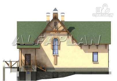 Фото 9: проект «Яблоко» - дом для узкого участка с рельефом