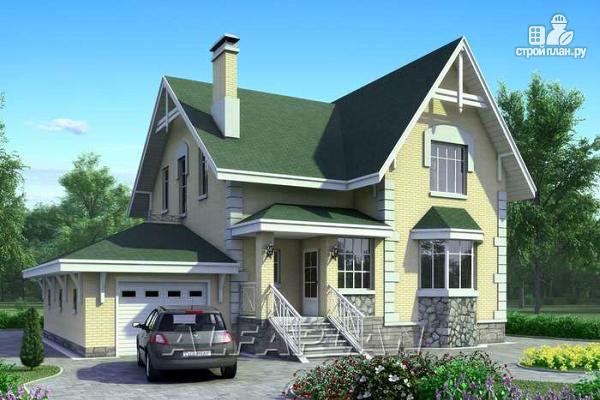 Фото: проект «Ретростилиса» - рациональный дом с гаражом