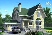 Проект «Ретростилиса» - рациональный дом с гаражом