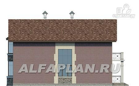 Фото 5: проект коттедж с террасой и балконом