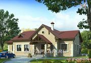 """Проект """"Поместье"""" - одноэтажный дом с удобной планировкой"""