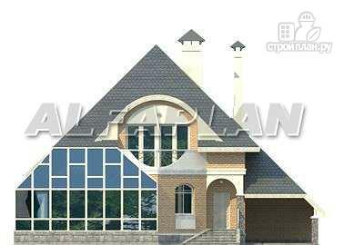"""Фото 6: проект """"Кристалл"""" - загородный дом с оранжереей"""