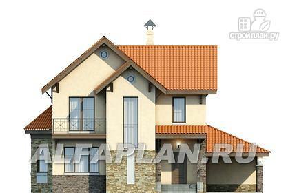 """Фото 4: проект """"Pro vita"""" - компактный дом с удобной планировкой"""
