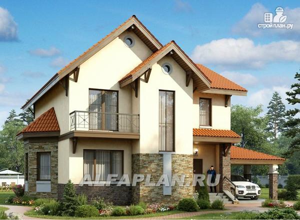 """Фото: проект """"Pro vita"""" - компактный дом с удобной планировкой"""