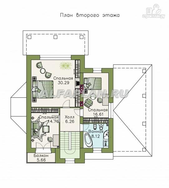 """Фото 3: проект """"Pro vita"""" - компактный дом с удобной планировкой"""