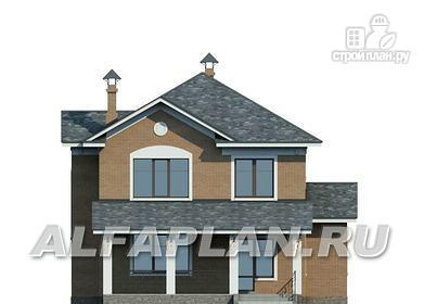 Фото 6: проект двухэтажный дом с компактной и удобной планировкой