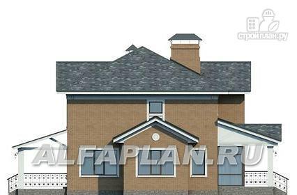 Фото 7: проект двухэтажный дом с компактной и удобной планировкой
