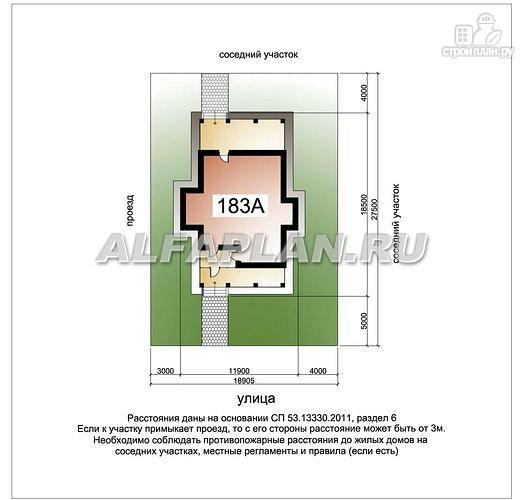 Фото 8: проект двухэтажный дом с компактной и удобной планировкой