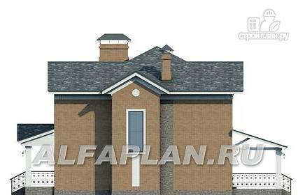 Фото 5: проект двухэтажный дом с компактной и удобной планировкой