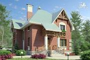 Фото: «Магистр» - двухэтажный дом с эркером