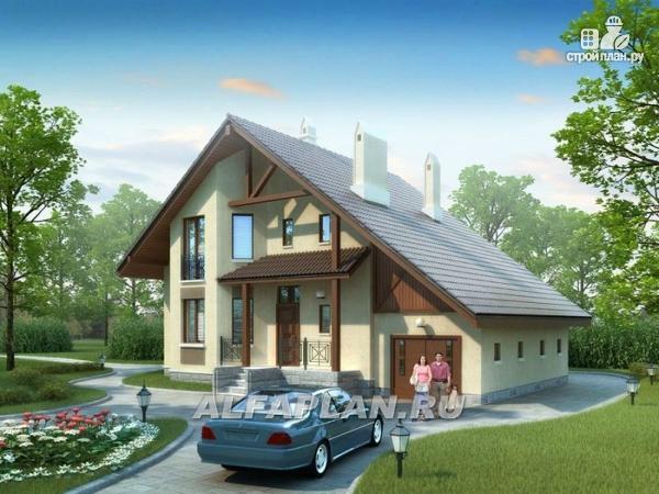 Фото: проект «Регенсбург» - газобетонный коттедж в немецкой традиции