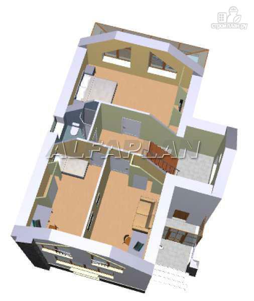 Фото 7: проект «Эксклюзив» - компактный трехэтажный коттедж