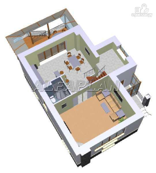 Фото 5: проект «Эксклюзив» - компактный трехэтажный коттедж