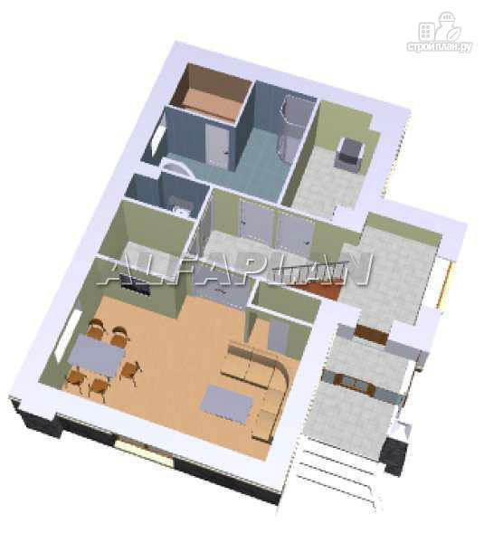 Фото 3: проект «Эксклюзив» - компактный трехэтажный коттедж