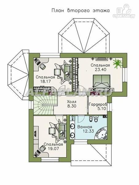 Проект Дома 7Х7 Двухэтажный Проект