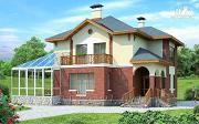 """Фото: """"Вита-Клаб""""-двухэтажный загородный дом с большим зимним садом"""