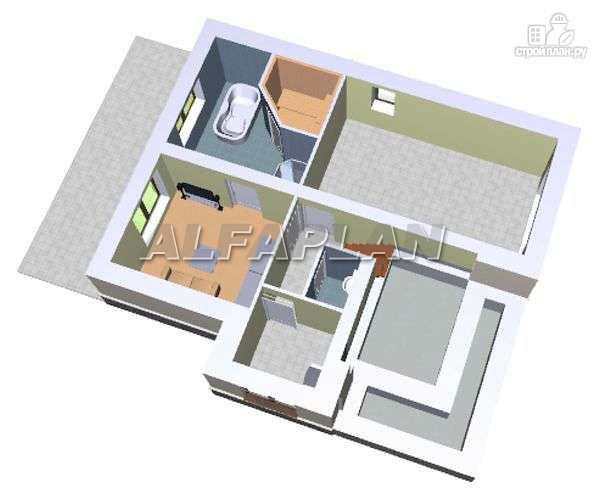 """Фото 3: проект """"Индиго"""" - дом, в котором все есть"""